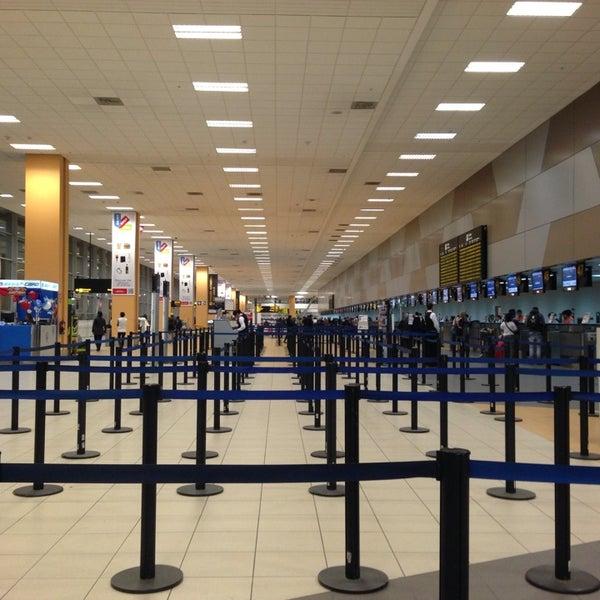 Photo taken at Jorge Chávez International Airport (LIM) by Fernando N. on 6/20/2013