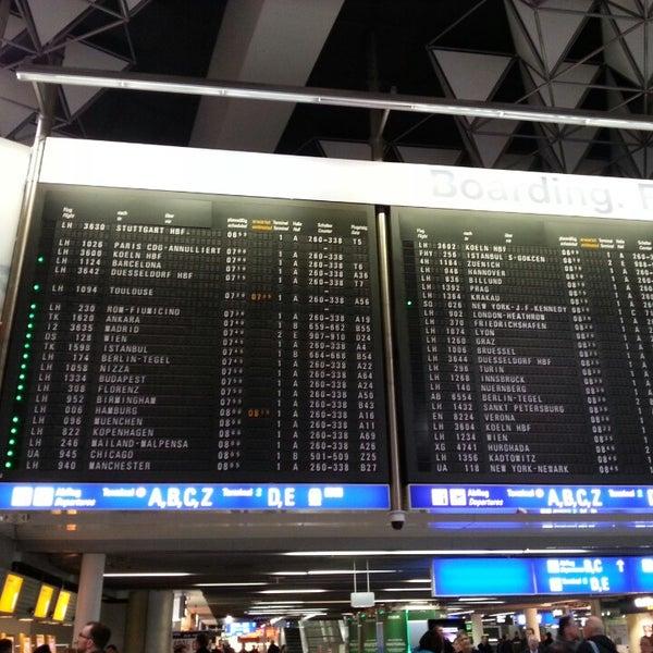 Das Foto wurde bei Frankfurt Airport (FRA) von Eftal P. am 11/21/2013 aufgenommen