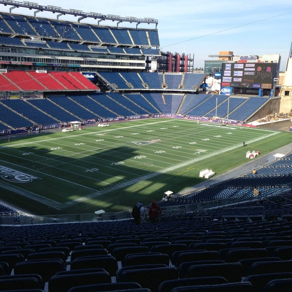 Gillette Stadium Food Places