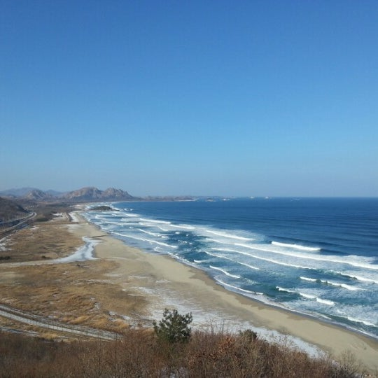 Photo taken at 통일전망대 by lee s. on 2/2/2013