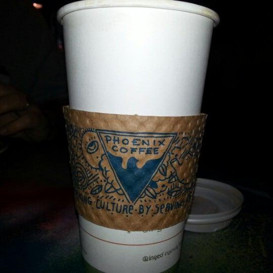 Photo taken at Phoenix Coffee by Samantha F. on 3/4/2013