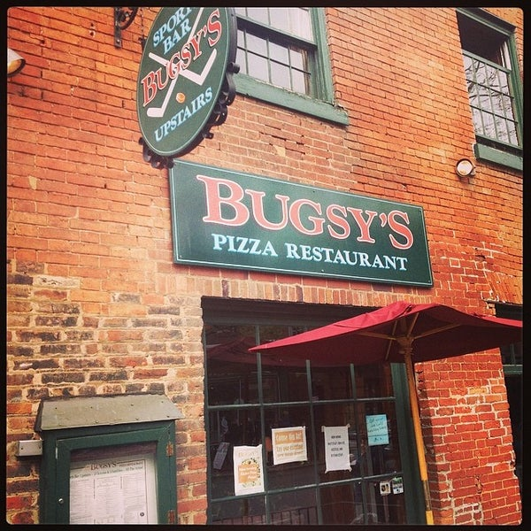 bugsy 39 s pizza restaurant and sports bar old town alexandria va