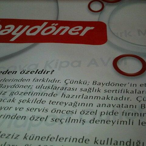 Foto diambil di Baydöner oleh Onur O. pada 4/5/2013