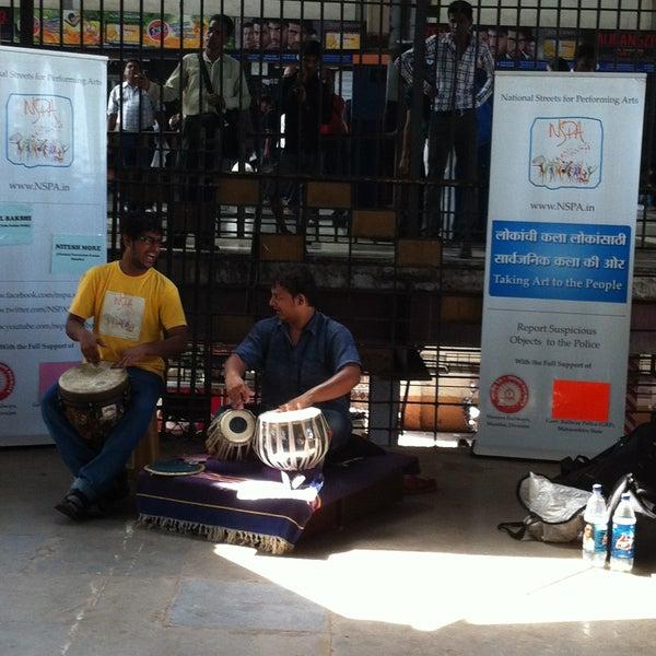 Photo taken at Dadar Railway Station by sachin q. on 5/7/2013