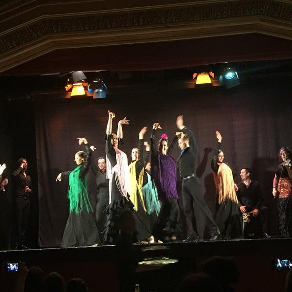 Photo taken at Palacio del Flamenco by Duygu A. on 6/13/2016