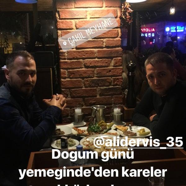 10/30/2017 tarihinde Ersin D.ziyaretçi tarafından Çakıl Meyhane'de çekilen fotoğraf