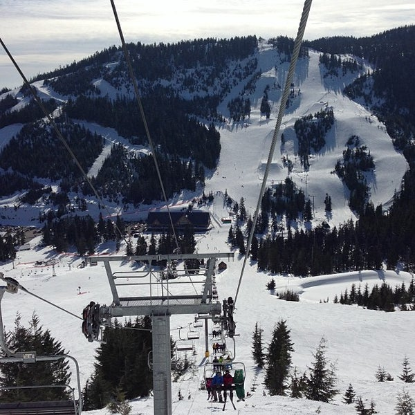 Photo taken at Cypress Mountain Ski Area by Jenn C. on 3/24/2013