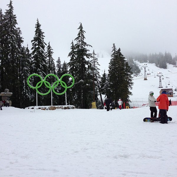 Photo taken at Cypress Mountain Ski Area by Jenn C. on 12/2/2012