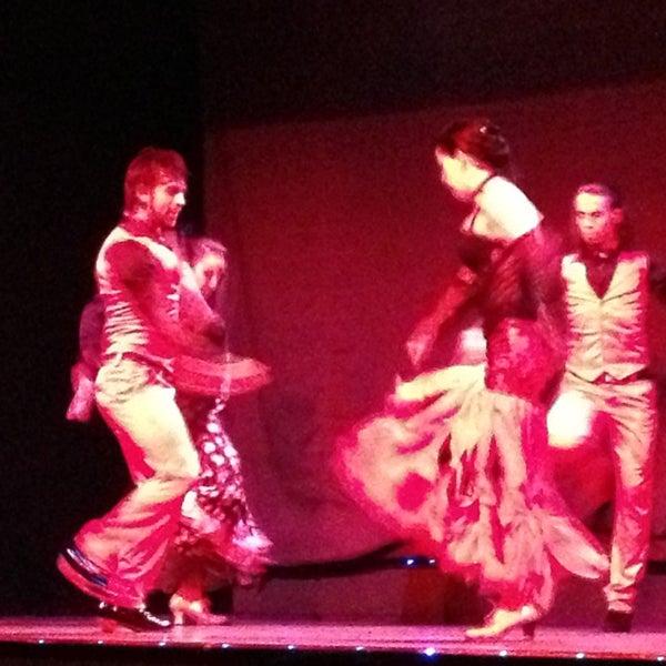 Photo taken at Palacio del Flamenco by Atilla Y. on 12/30/2012