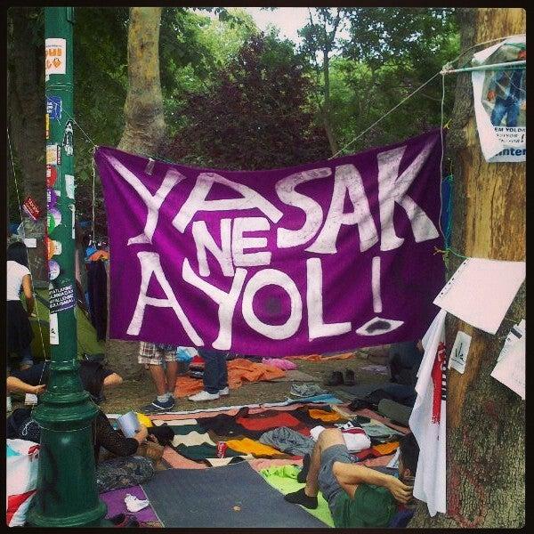 6/13/2013にFurkan Alp A.がTaksim Gezi Parkıで撮った写真