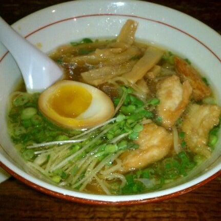 Photo taken at Noodle Cafe Zen by sammy m. on 9/15/2012