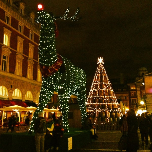 Photo taken at Covent Garden Market by Ngoc B. on 12/18/2012