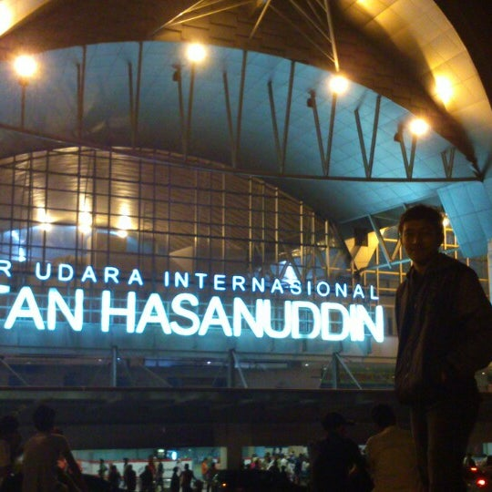 Photo taken at Sultan Hasanuddin International Airport (UPG) by Syaiful A. on 3/25/2013