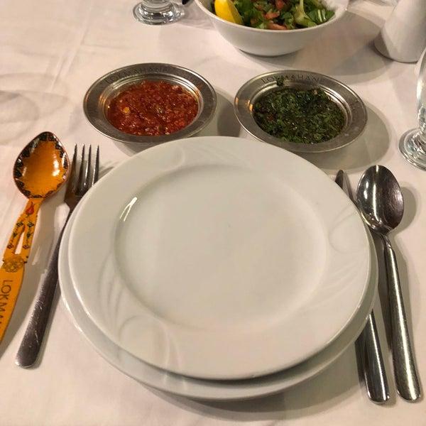 12/9/2017 tarihinde Ayşegül G.ziyaretçi tarafından Lokmahane Restaurant'de çekilen fotoğraf