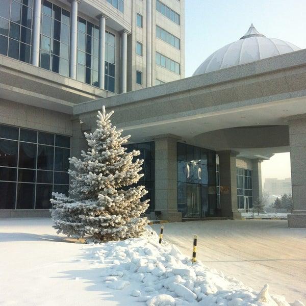 12/18/2012 tarihinde Сергей М.ziyaretçi tarafından Rixos President Astana'de çekilen fotoğraf