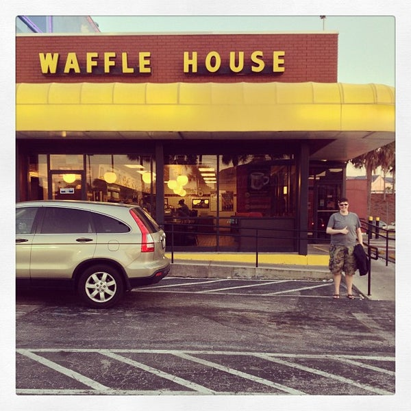 Photo taken at Waffle House by KaeLyn R. on 3/15/2013