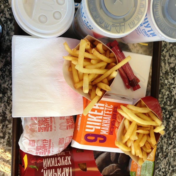 Photo taken at McDonald's by Карина П. on 12/23/2012
