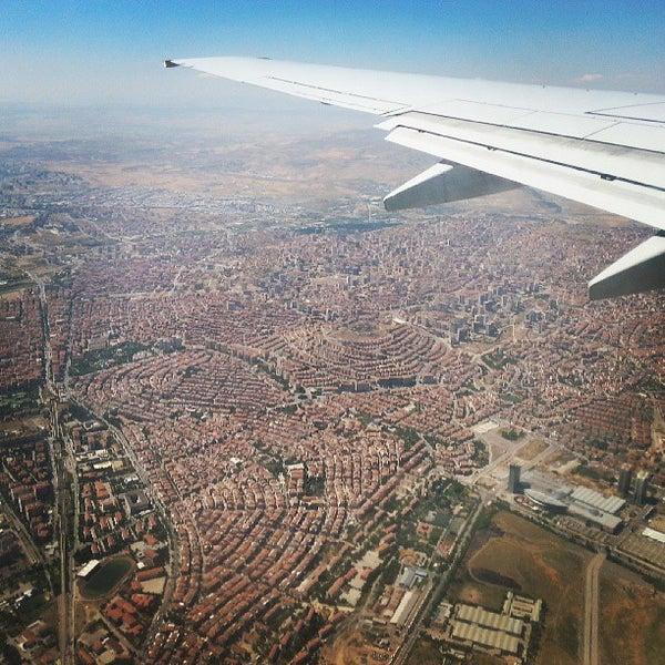 Photo taken at Ankara Esenboğa Airport (ESB) by Zekeriya B. on 7/4/2013