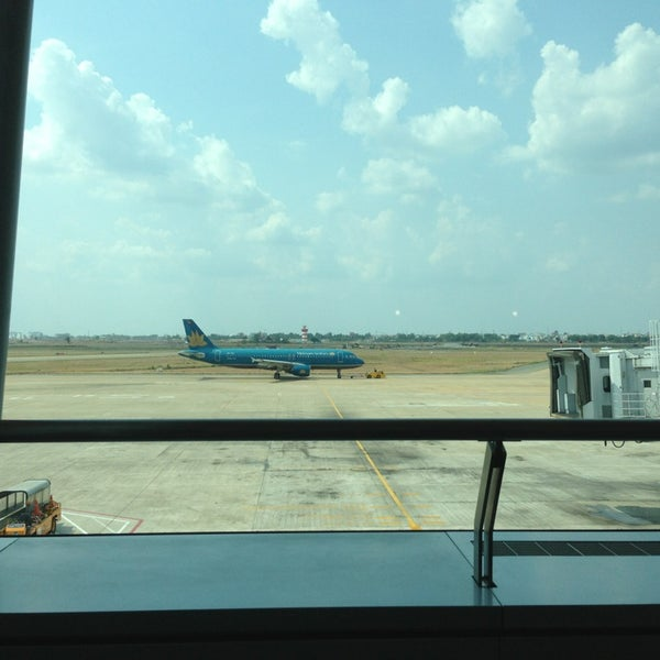 Photo taken at Tan Son Nhat International Airport (SGN) by Jack S. on 4/5/2013
