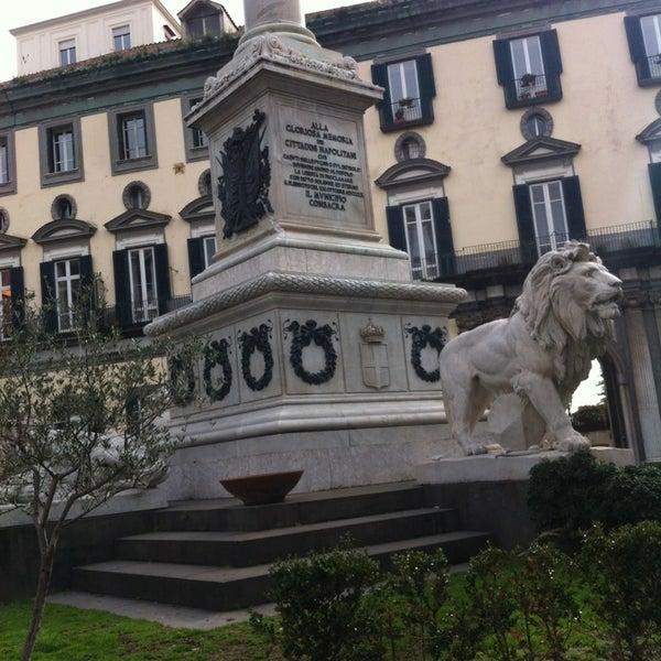 Photo taken at Piazza dei Martiri by Roberto M. on 2/18/2013