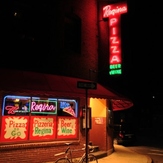 Photo taken at Regina Pizzeria by Chris D. on 10/18/2012