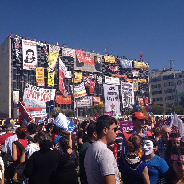 7/24/2013にGülşah B.がTaksim Gezi Parkıで撮った写真