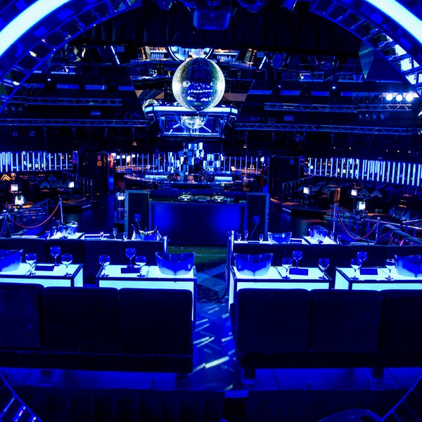 Club nocturno bailarines grande en Madrid