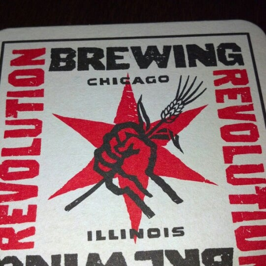 Photo taken at Revolution Brewing by Monty S. on 2/17/2013