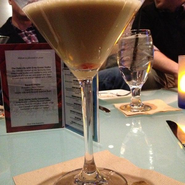 Photo taken at Bigg Blue Martini by Lisa C. on 12/31/2012