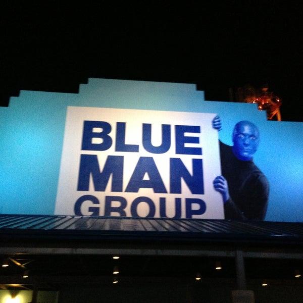 Photo taken at Blue Man Group at Universal CityWalk by Rodrigo O. on 5/15/2013