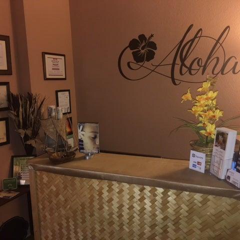 "Photo taken at Ka Lima Hana Kukui ""Hawaiian Massage Therapy"" by Teresa N. on 4/27/2017"