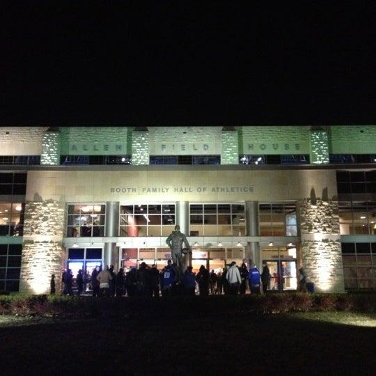 Photo taken at Allen Fieldhouse by Ryan S. on 11/27/2012
