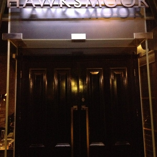 Photo taken at Hawksmoor Seven Dials by Michael H. on 2/27/2013