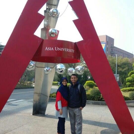Photo taken at Asia University by khairul u. on 1/3/2015