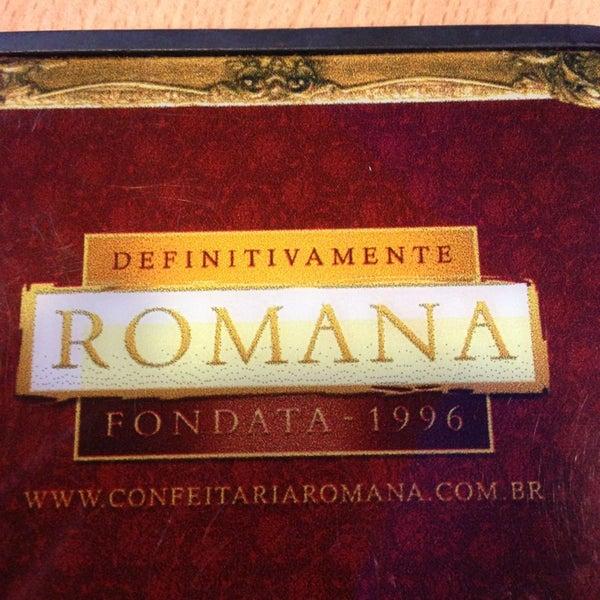 Photo taken at Confeitaria Romana by Lucas B. on 1/23/2013