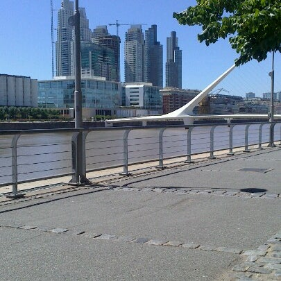 Photo taken at Puerto Madero by Leandro B. on 1/13/2013