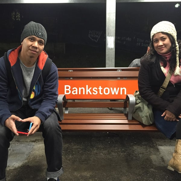Photo taken at Bankstown Station by Olivia A. on 6/30/2015