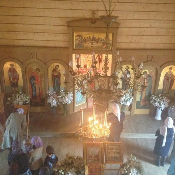 Photo taken at Храм святого Николая Чудотворца by Nika A. on 5/9/2013