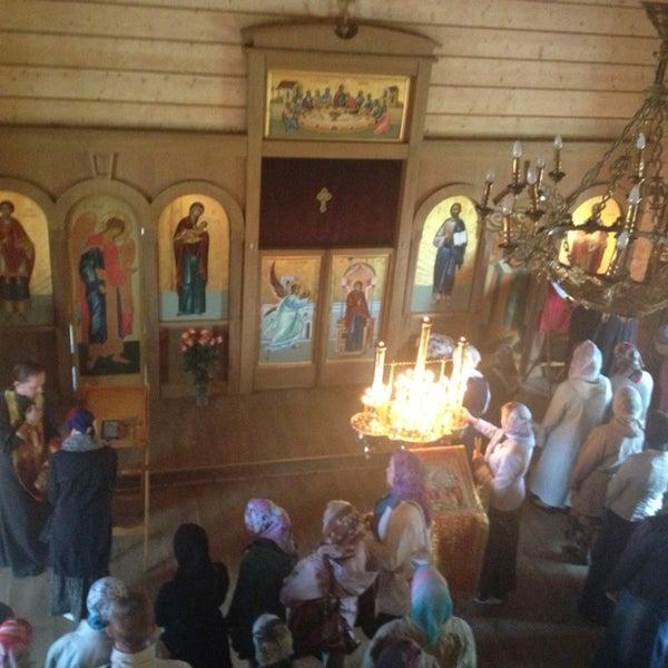 Photo taken at Храм святого Николая Чудотворца by Nika A. on 5/26/2013