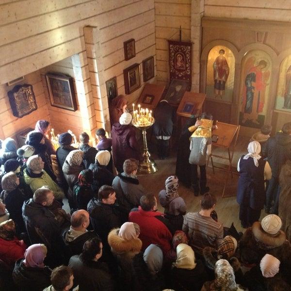 Photo taken at Храм святого Николая Чудотворца by Nika A. on 3/10/2013