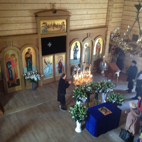 Photo taken at Храм святого Николая Чудотворца by Nika A. on 5/3/2013