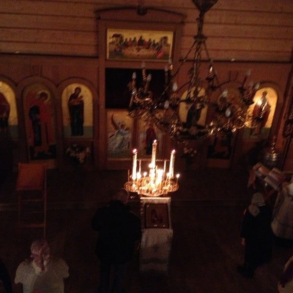 Photo taken at Храм святого Николая Чудотворца by Nika A. on 1/13/2013