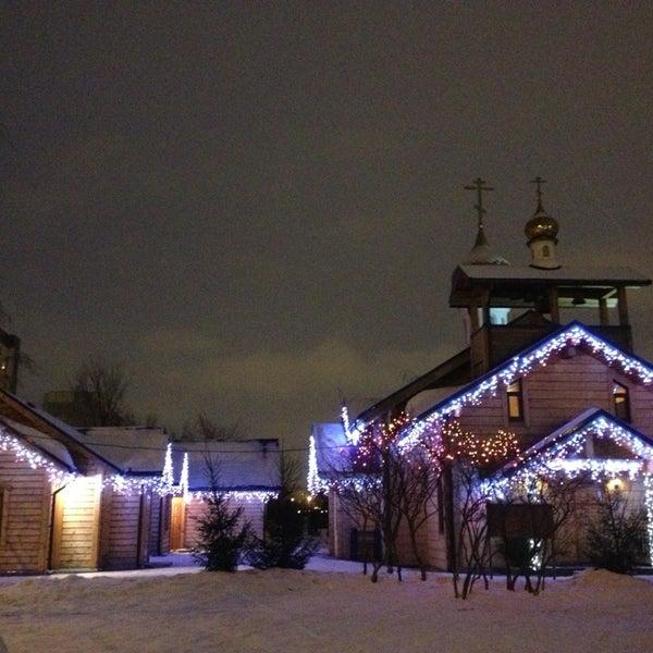 Photo taken at Храм святого Николая Чудотворца by Nika A. on 1/9/2013