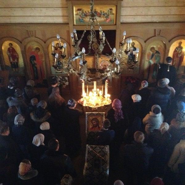 Photo taken at Храм святого Николая Чудотворца by Nika A. on 3/18/2013