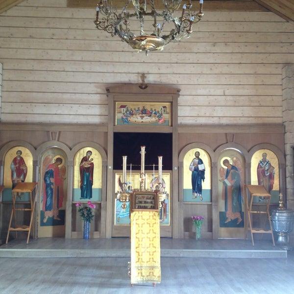 Photo taken at Храм святого Николая Чудотворца by Nika A. on 3/12/2013