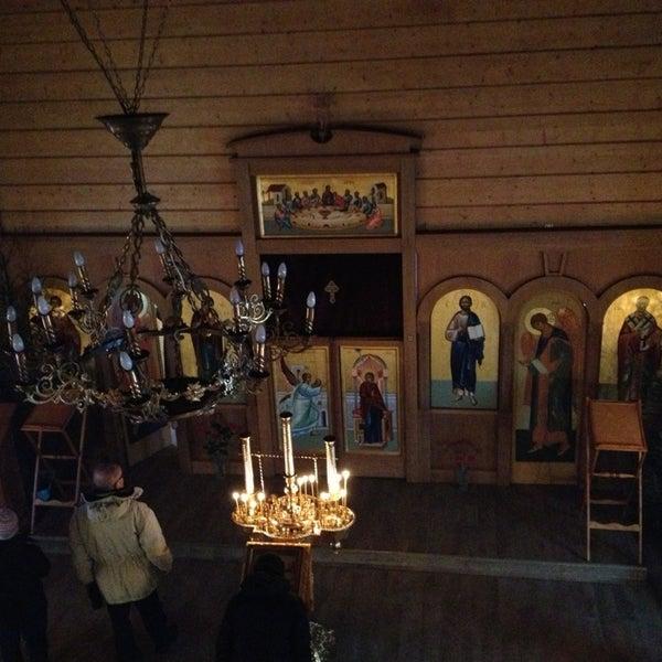 Photo taken at Храм святого Николая Чудотворца by Nika A. on 1/4/2013