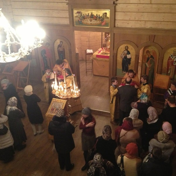 Photo taken at Храм святого Николая Чудотворца by Nika A. on 3/3/2013