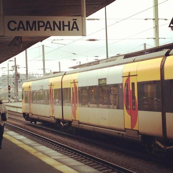 Photo taken at Estação Ferroviária de Porto-Campanhã by Filipe C. on 4/9/2013