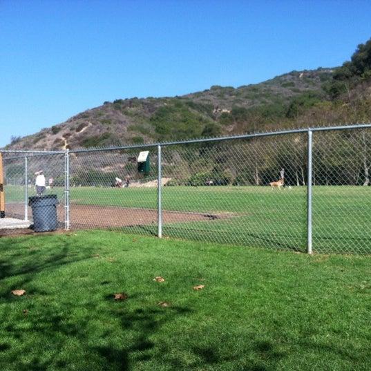 Photo taken at Laguna Canyon Dog Park by Sae C. on 11/3/2012