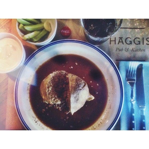 Photo taken at Haggis Pub & Kitchen by Georgy K. on 6/11/2014